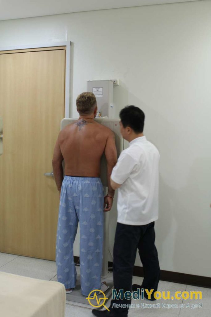 Диагностика в Корее - Рентген грудной клетки