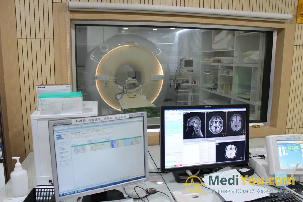 Обследование в Корее - МРТ
