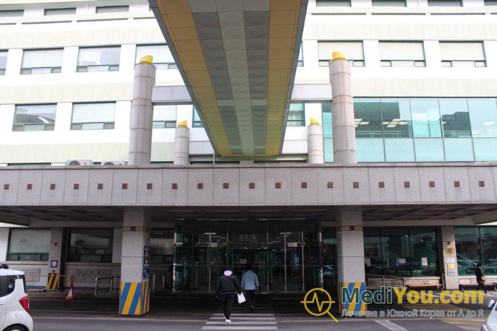 клиника Ханянг - главные двери
