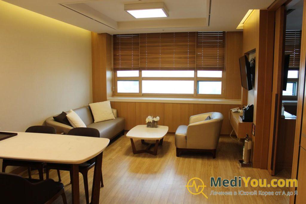 Клиника Университета Ханянг - палата ВИП повышенной комфортности