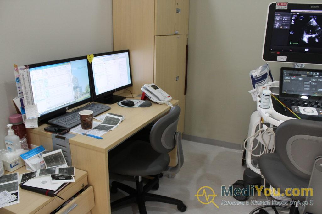 Медиплекс Седжон - диагностическое отделение