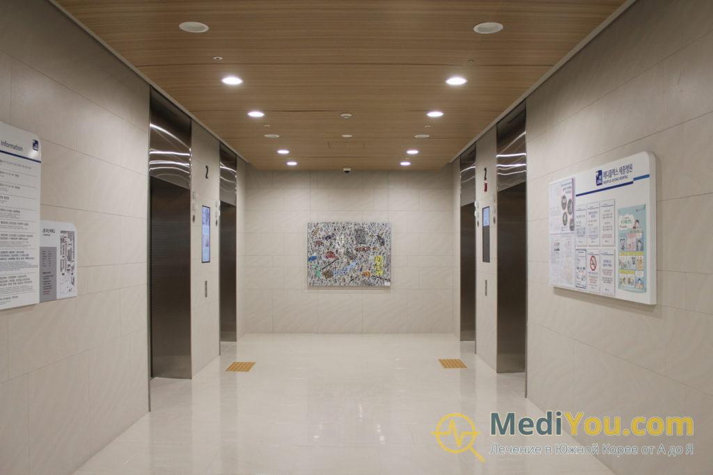 Медиплекс Седжон - лифты