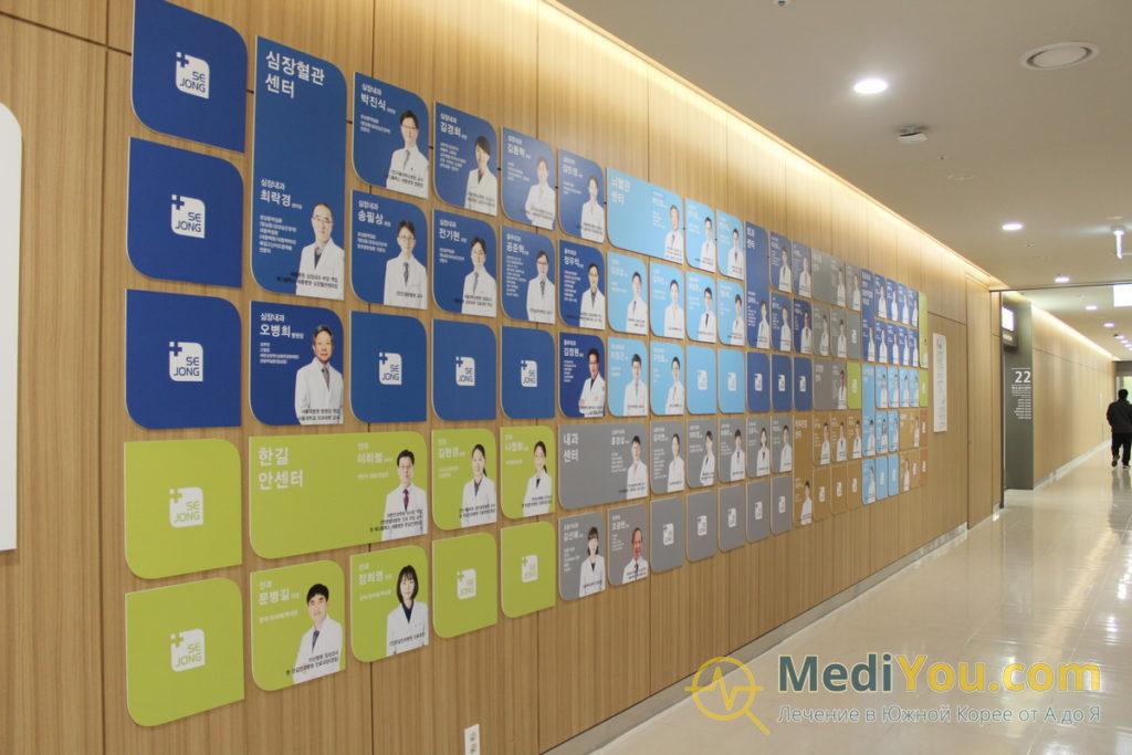 Медиплекс Седжон - врачи клиники