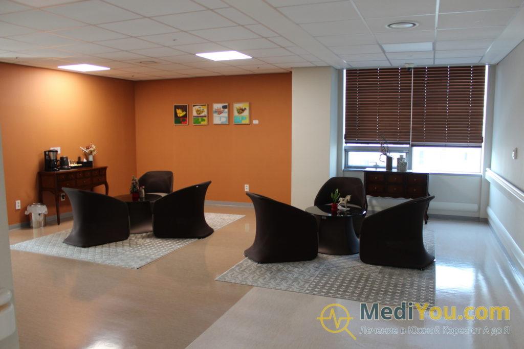 Клиника Седжон - фойе VIP отделения