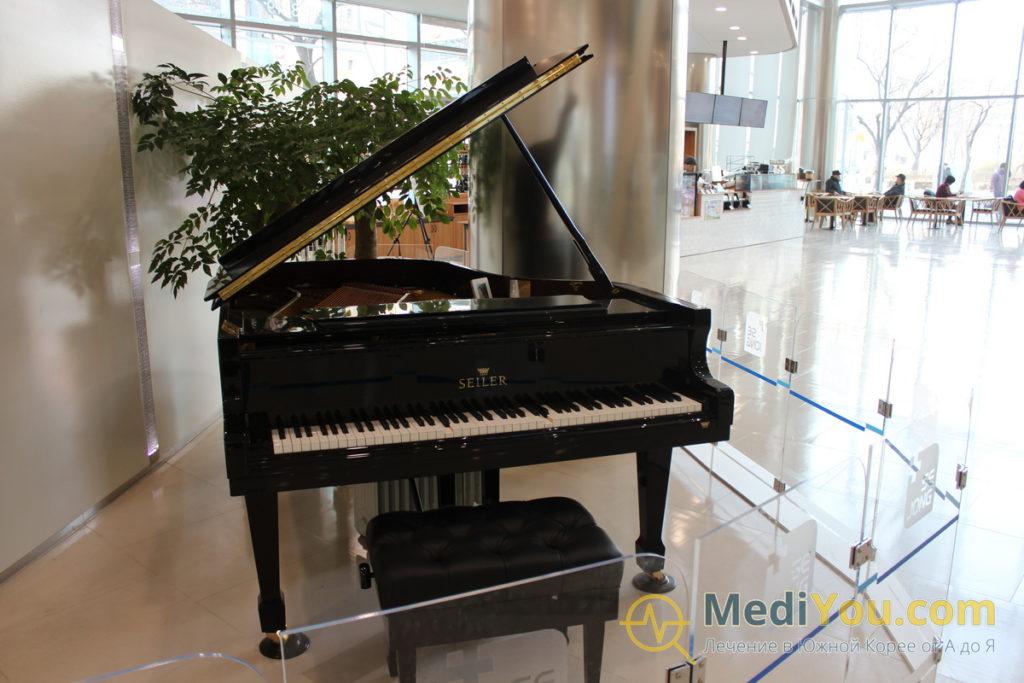 клиника Седжон - автоматический рояль