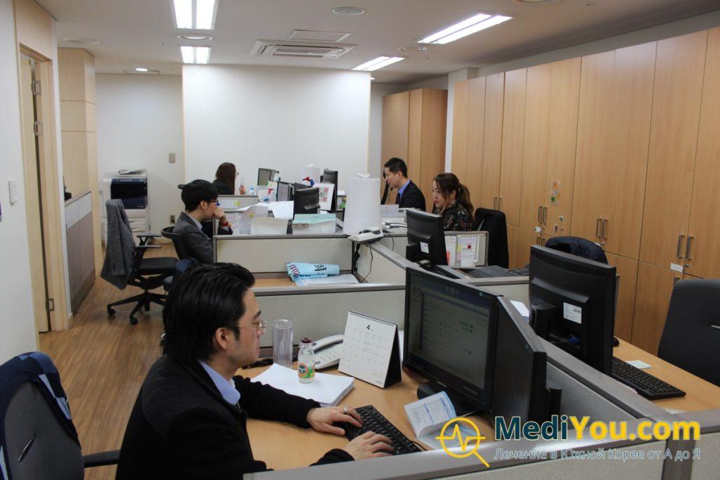 Международный отдел клиники Кенгхи - внутри