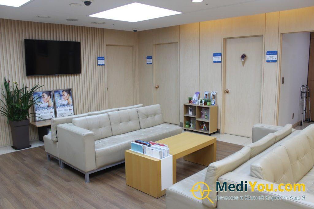 Международный отдел клиники Кенгхи