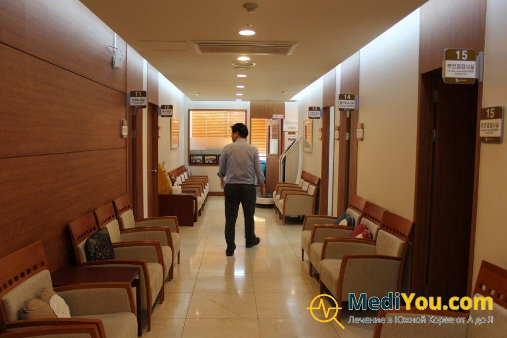 Клиника Кенгхи - кабинеты диагностики