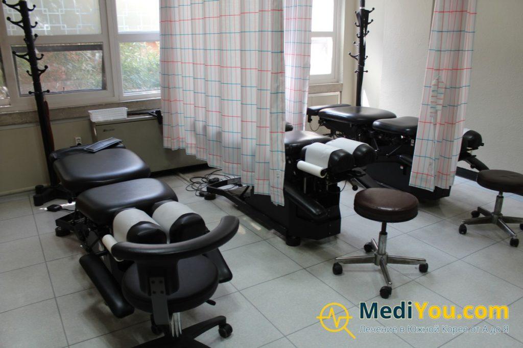 Клиника Кенгхи - отделение терапии и массажа