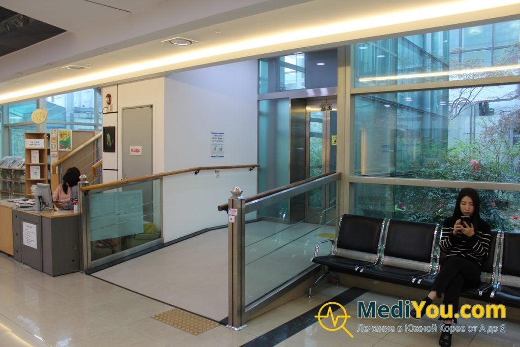 Клиника Кенгхи - панорамный лифт