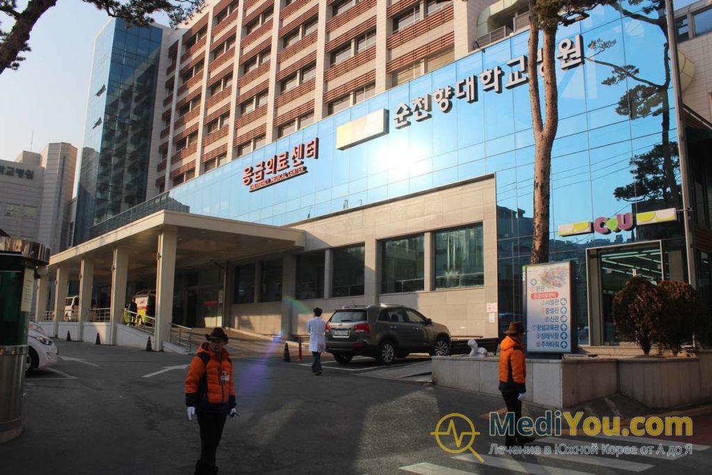 Медицинский центр Сунчонхян - главное здание