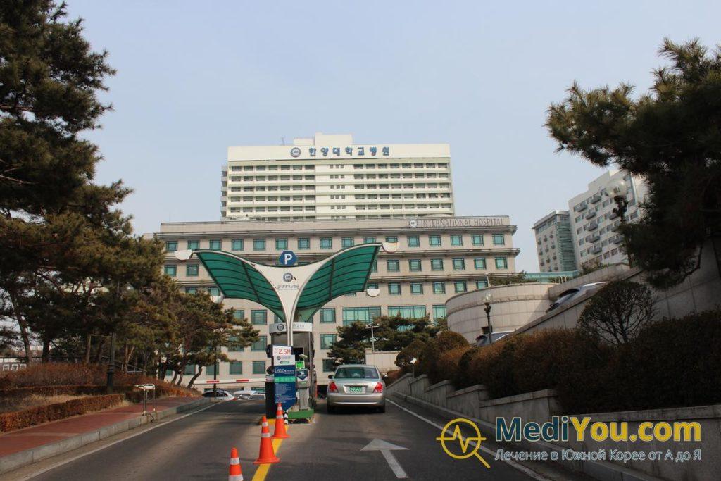 Клиника Ханянг - общий вид
