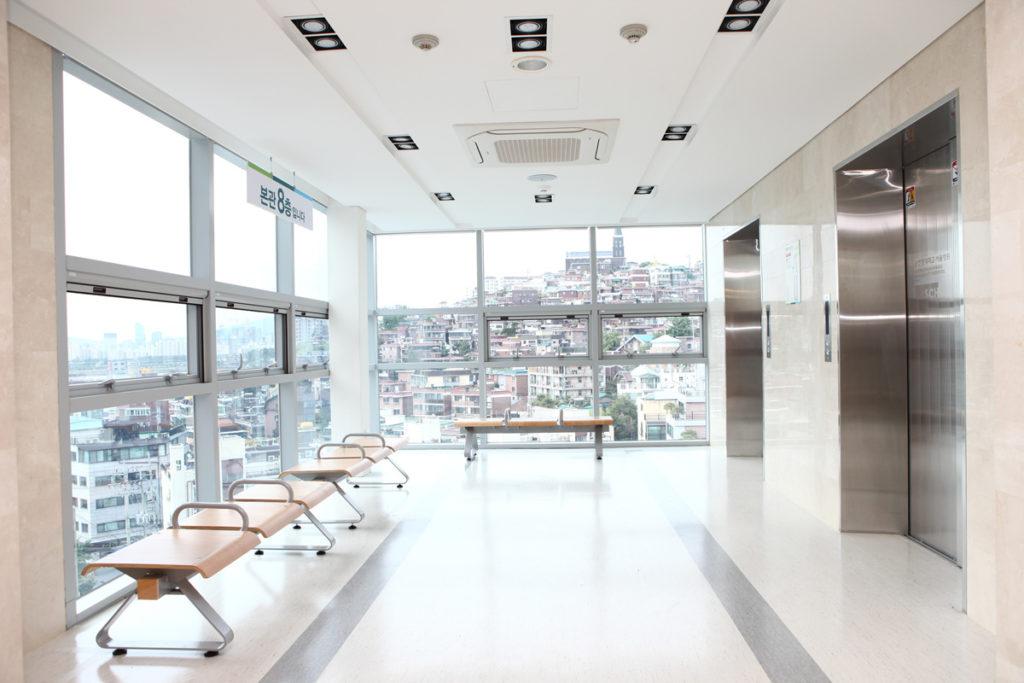Клиника Сунчонхян - вид на город